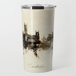 Canterbury England Skyline Travel Mug