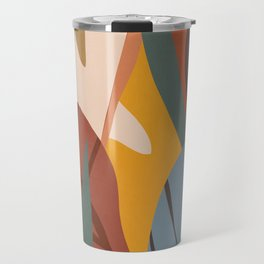 Abstract Art Jungle Travel Mug