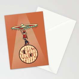 Mexican Moon Walk Stationery Cards