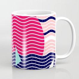 Hello Ocean Sunset Waves Coffee Mug