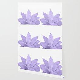Ultra Violet Agave on White #1 #tropical #decor #art #society6 Wallpaper