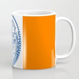 American cities-  Flag of  new york Coffee Mug