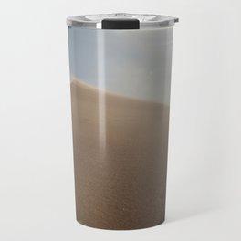 Sunset at Eureka Sand Dunes Travel Mug