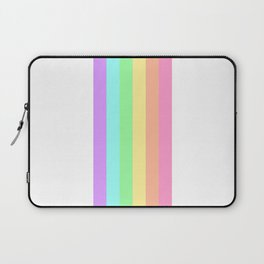 Pastel Rainbow 3 Laptop Sleeve