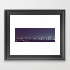 Milwaukee's Glow Framed Art Print