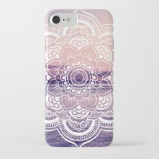 Water Mandala Amethyst & Mauve Slim Case iPhone 7