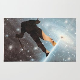 For Stephen Hawking - Reach For The Stars Rug