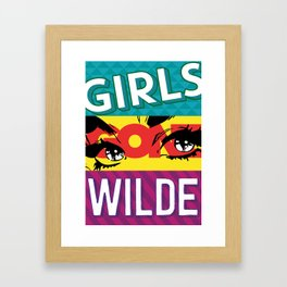 Girls Gone Wilde Framed Art Print