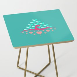 Be Beautiful - Be Colourful Peacock Side Table