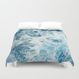 Rough Sea - Ocean Photography Duvet Cover