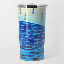 Black Rain Travel Mug