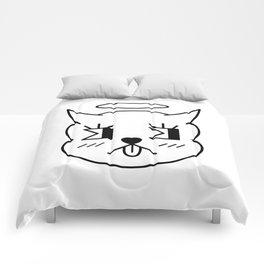 Diablochi BLK + WHT Comforters