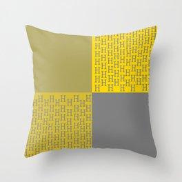 H-Design Throw Pillow