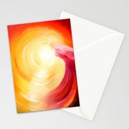 Soul journey into the light Stationery Cards