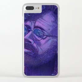 Terence Mckenna Clear iPhone Case