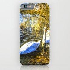 A Pair of Swans Art Slim Case iPhone 6s