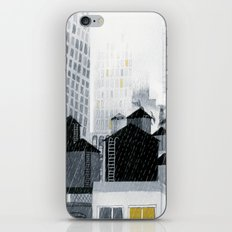 Rainy New York City iPhone & iPod Skin
