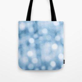 unfocused blue Tote Bag