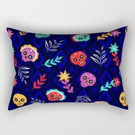 Fiesta Skulls #society6 #skulls Rectangular Pillow