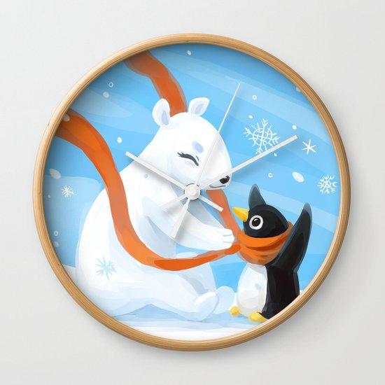 Uncle Bear Wall Clock