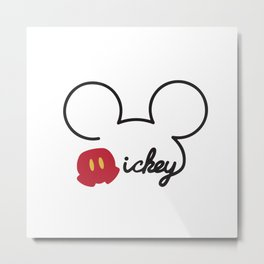 Mickey Mouse No. 15 Metal Print