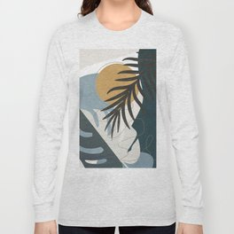 Abstract Tropical Art II Long Sleeve T-shirt
