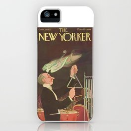 Vintage New Yorker Cover - Circa 1933 iPhone Case