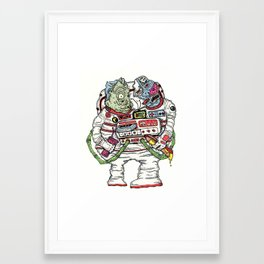 02/11/16 all colored up Framed Art Print