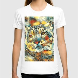 AnimalArt_Leopard_20170602_by_JAMColorsSpecial T-shirt