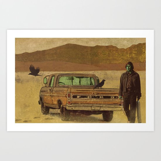 No Country  Art Print