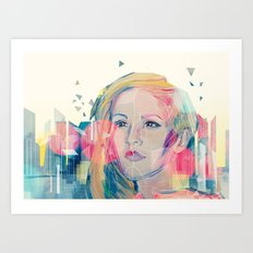 City Lights ANALOG zine Art Print