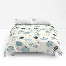 Pumpkins Blues Comforters