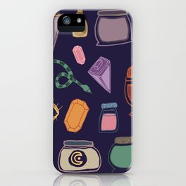 Potions Flash Sheet iPhone Case
