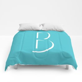 The Letter B Comforters