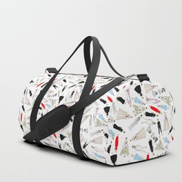 Audrey Hepburn Fashion (Scattered) Duffle Bag