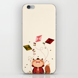 Faire du cerf-volant iPhone Skin