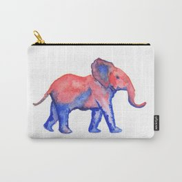 Les Animaux: Baby African Elephant Carry-All Pouch