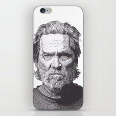 Jeff 2 iPhone & iPod Skin