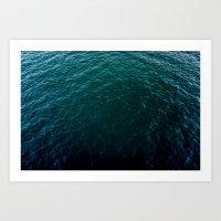 Depth Art Print