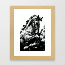 Horse Art  Framed Art Print