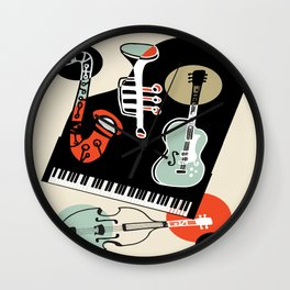 Jazz Combo Wall Clock