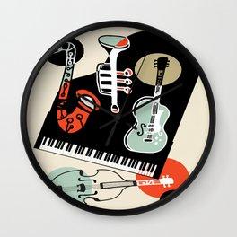 Jazz Combo Wall Clock