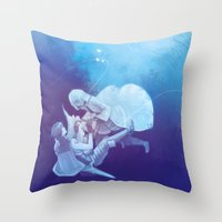 fire emblem awakening Throw Pillows featuring AWAKENING by Kura