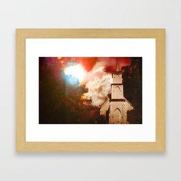 Deepwoods Grove Church Framed Art Print