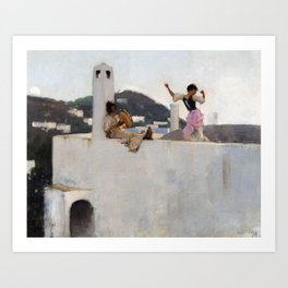 John Singer Sargent - Capri Art Print