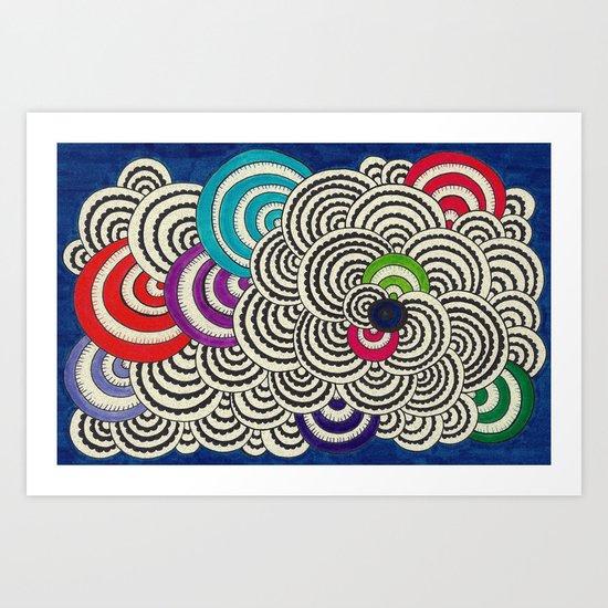 Frilly Art Print