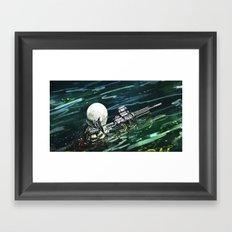 Water Recon Framed Art Print