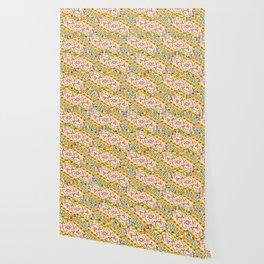 Pink Bonbon Hexagons Wallpaper