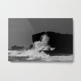 Halona Blowhole Metal Print