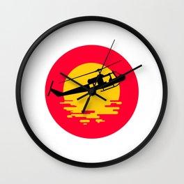 Vietnam Syndrome Wall Clock